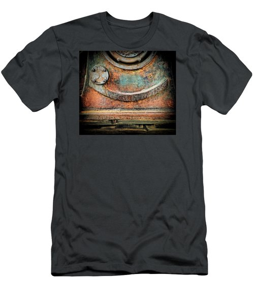 Men's T-Shirt (Athletic Fit) featuring the photograph Virginia City Rust by Steve Siri