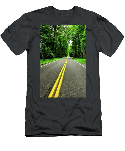 Virginia Road Men's T-Shirt (Athletic Fit)