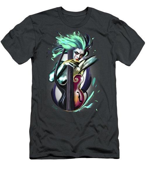 Virgo Men's T-Shirt (Slim Fit) by Melanie D