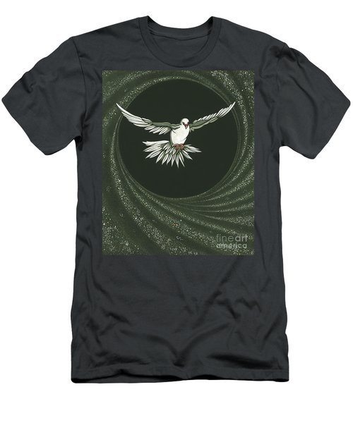 Viriditas-holy Spirit Detail Men's T-Shirt (Athletic Fit)