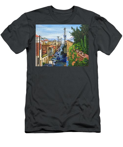 Visions Of Paradise Vii Men's T-Shirt (Slim Fit) by Michael Frank