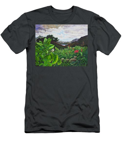 Visions Of Paradise Viii Men's T-Shirt (Slim Fit) by Michael Frank