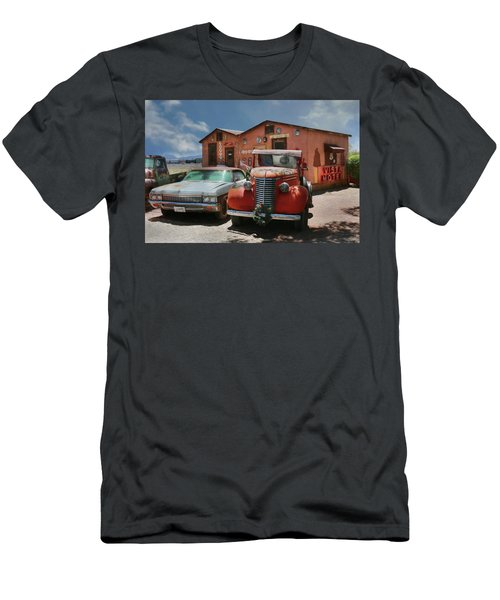 Men's T-Shirt (Slim Fit) featuring the photograph Vista Motel by Lori Deiter