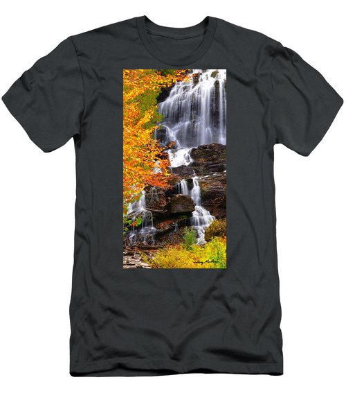 Vivid Falls Men's T-Shirt (Athletic Fit)
