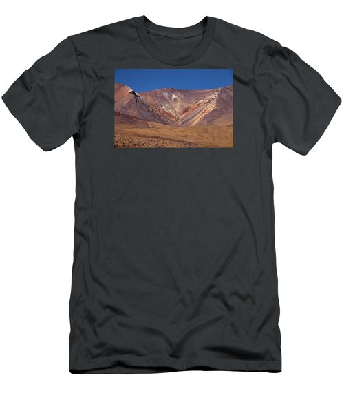 Volcano Crater In Siloli Desert Men's T-Shirt (Athletic Fit)