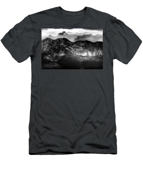 Men's T-Shirt (Slim Fit) featuring the photograph Volcano by Hayato Matsumoto