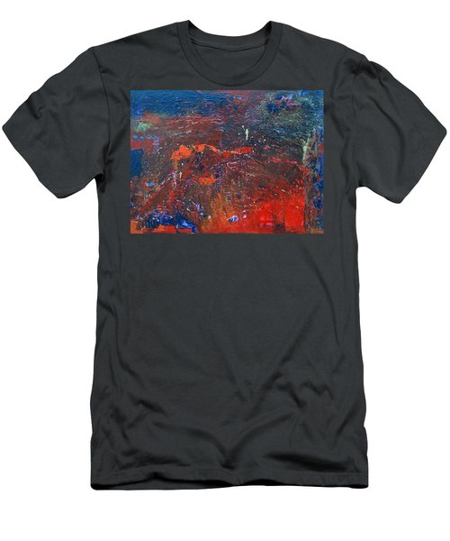 Volcano Men's T-Shirt (Athletic Fit)