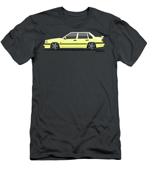 Volvo 850r 854r T5-r Creme Yellow Men's T-Shirt (Athletic Fit)