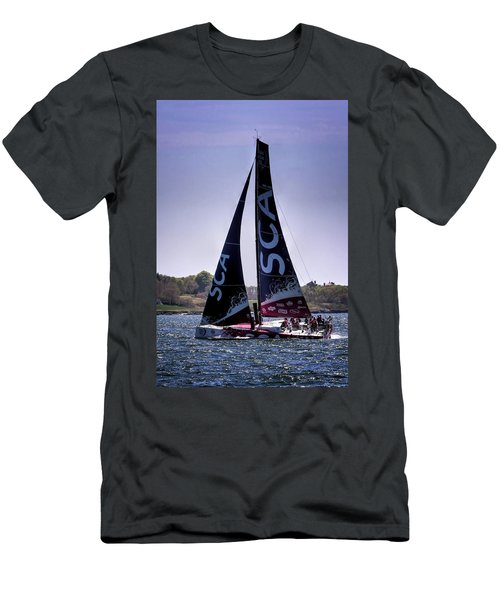 Volvo Ocean Race Team Sca Men's T-Shirt (Athletic Fit)