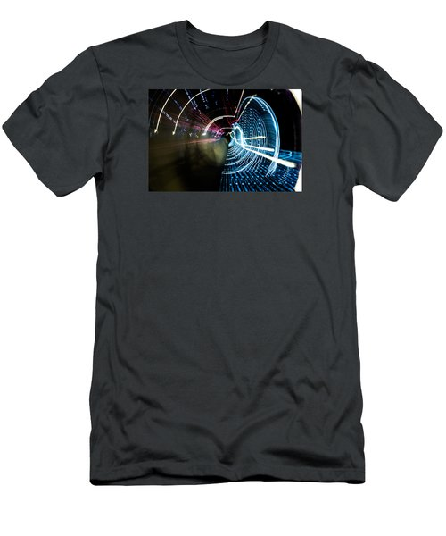 Men's T-Shirt (Slim Fit) featuring the photograph Vortex by Micah Goff