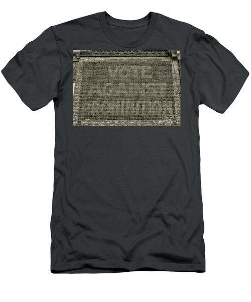 Vote Against Prohibition 1 Men's T-Shirt (Slim Fit) by Paul Ward