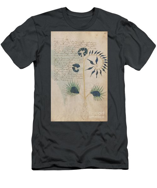 Voynich Flora 12 Men's T-Shirt (Athletic Fit)