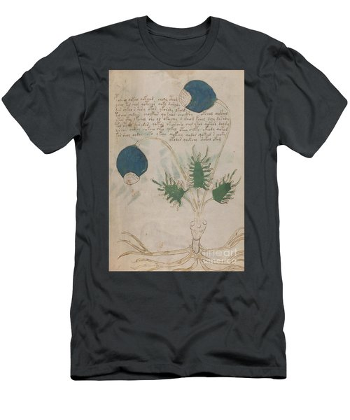 Voynich Flora 20 Men's T-Shirt (Athletic Fit)