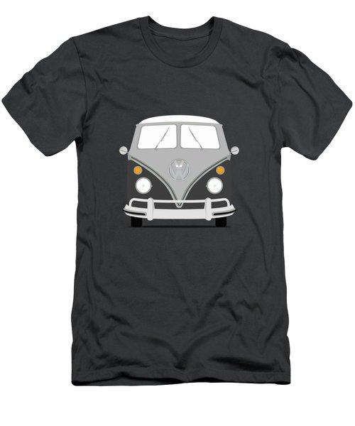 Vw Bus Grey Men's T-Shirt (Athletic Fit)