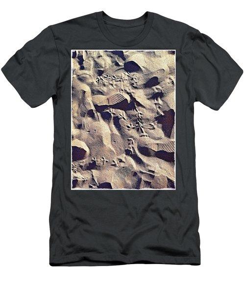 Waikiki Sand Men's T-Shirt (Athletic Fit)