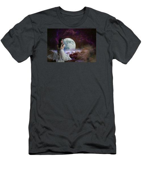 Waiting Men's T-Shirt (Slim Fit) by Ester Rogers