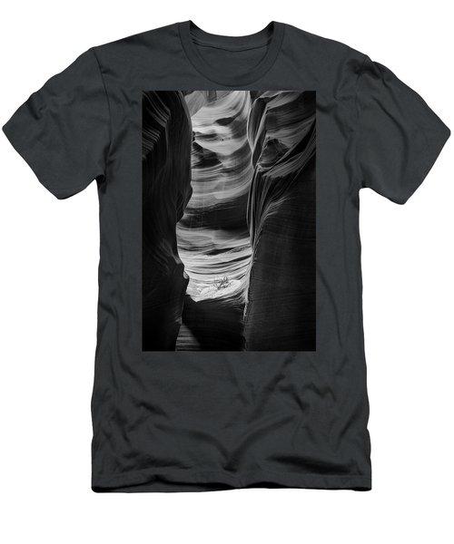 Waiting For Sunlight Men's T-Shirt (Slim Fit) by Jon Glaser