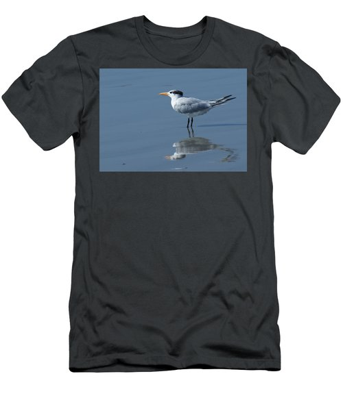 Waiting In The Surf Men's T-Shirt (Athletic Fit)