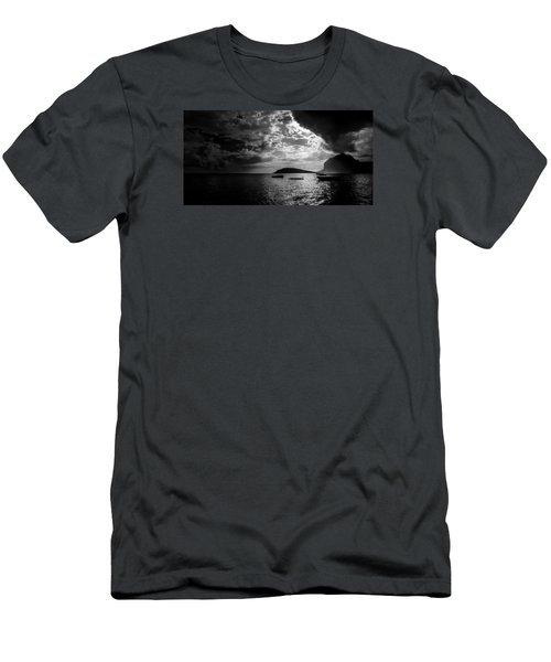 Men's T-Shirt (Athletic Fit) featuring the photograph Waiting by Julian Cook