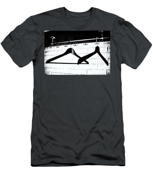 Men's T-Shirt (Slim Fit) featuring the photograph Waiting  by Karen Stahlros