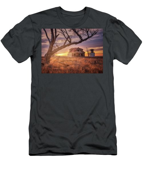 Men's T-Shirt (Athletic Fit) featuring the photograph Waking Up With A Friend by Darren White