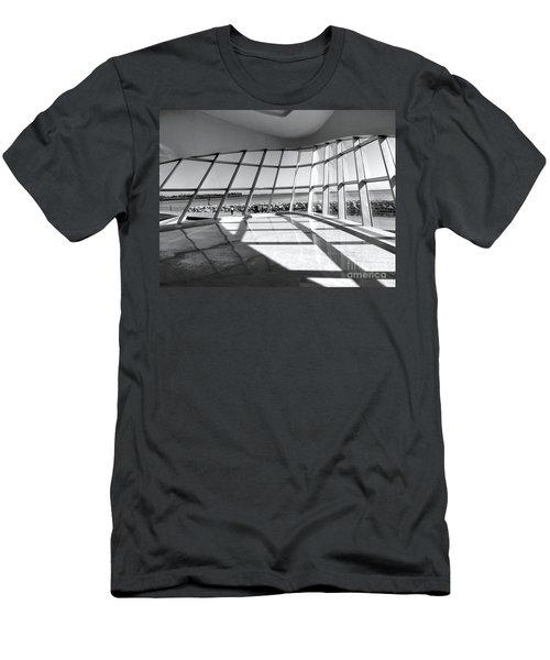 Walk Along The Lake Men's T-Shirt (Athletic Fit)
