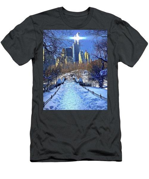 Walk Thru Central Park Men's T-Shirt (Athletic Fit)