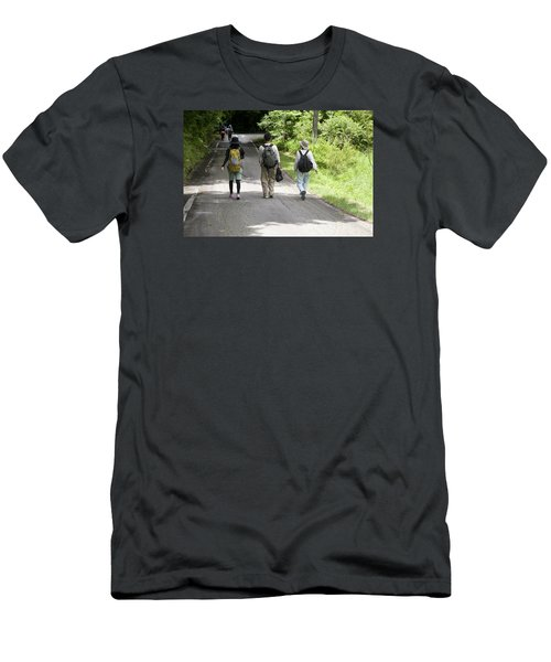 Walk Together Men's T-Shirt (Athletic Fit)