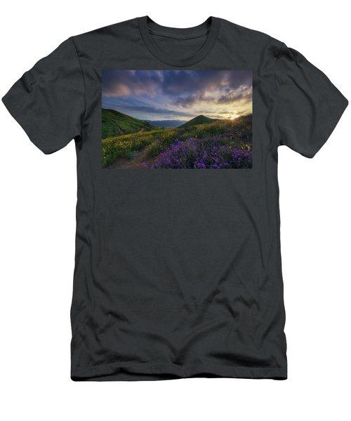 Walker Canyon Men's T-Shirt (Slim Fit) by Tassanee Angiolillo