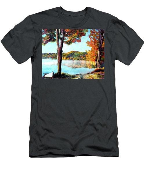 A Walk Down Lake Champlain Men's T-Shirt (Athletic Fit)
