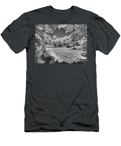Walking In Clark Gardens Men's T-Shirt (Athletic Fit)
