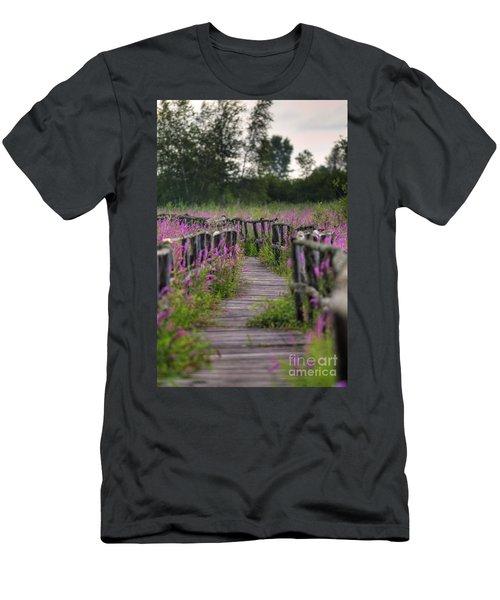 Walking In Magic... Men's T-Shirt (Athletic Fit)