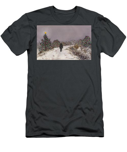 Walking Into The Light Men's T-Shirt (Athletic Fit)