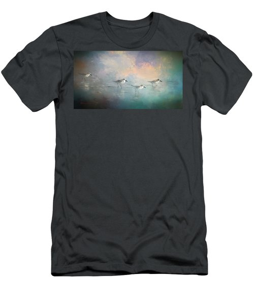 Walking Into The Sunset Men's T-Shirt (Slim Fit) by Marvin Spates