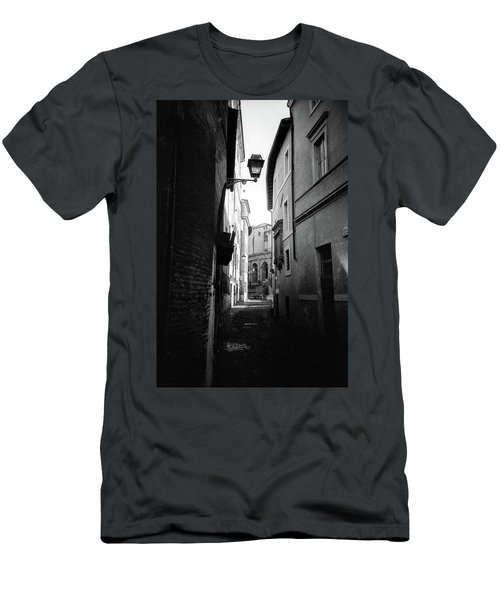 Walking Near The Campidoglio Men's T-Shirt (Athletic Fit)