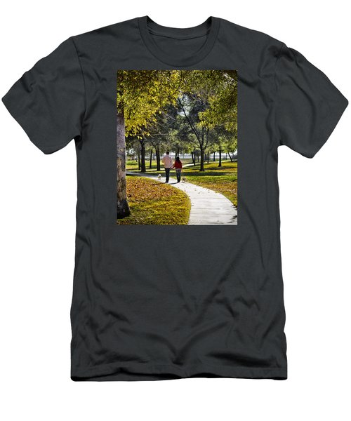 Walking Park Men's T-Shirt (Athletic Fit)