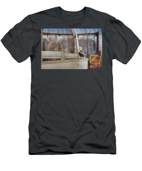 Men's T-Shirt (Slim Fit) featuring the photograph Walking The Plank by Benanne Stiens