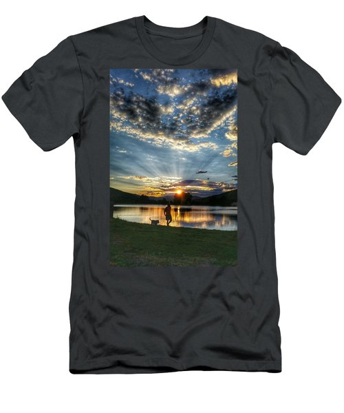 Walking With My Best Friend Men's T-Shirt (Athletic Fit)