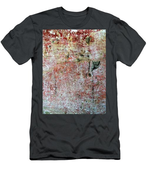 Wall Abstract 169 Men's T-Shirt (Slim Fit) by Maria Huntley