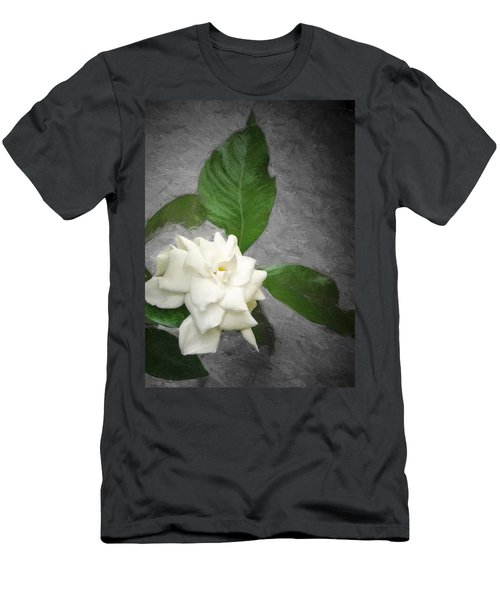 Men's T-Shirt (Slim Fit) featuring the photograph Wall Flower by Carolyn Marshall