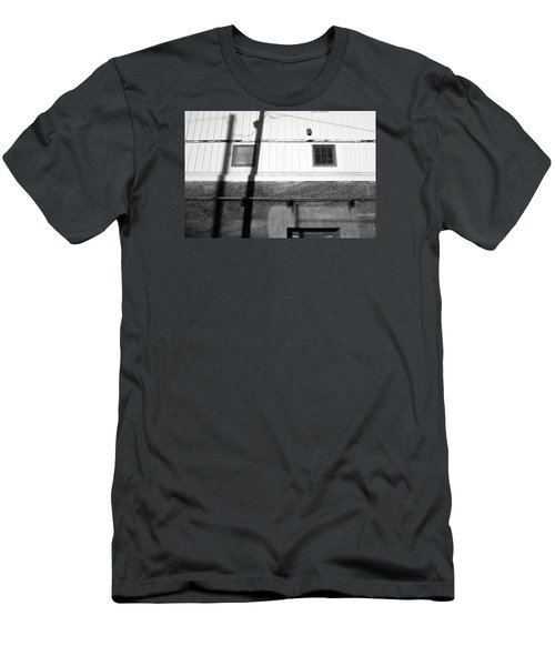 Wall Widows  Shadow 2 Men's T-Shirt (Slim Fit) by Catherine Lau