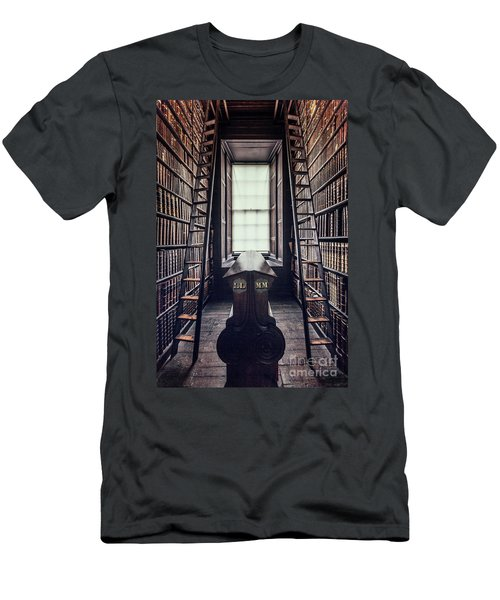 Walls Of Books Men's T-Shirt (Athletic Fit)
