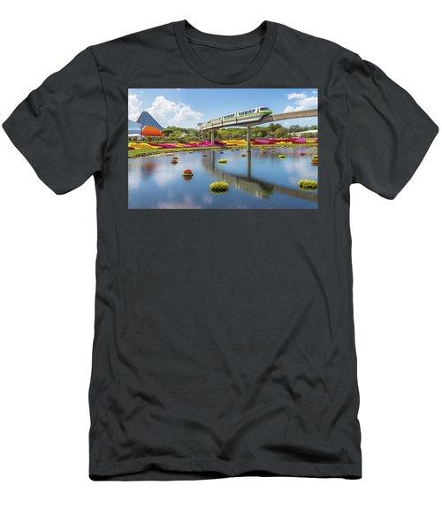 Walt Disney World Epcot Flower Festival Men's T-Shirt (Athletic Fit)