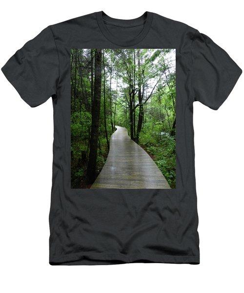 Wang Lang Nature Reserve, China Men's T-Shirt (Athletic Fit)
