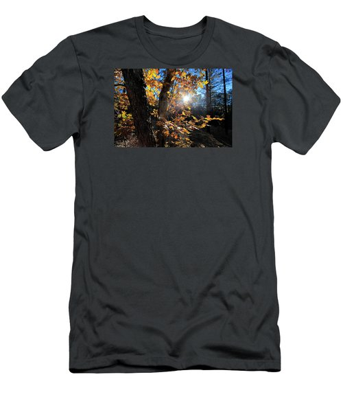Men's T-Shirt (Slim Fit) featuring the photograph Waning Autumn by Gary Kaylor