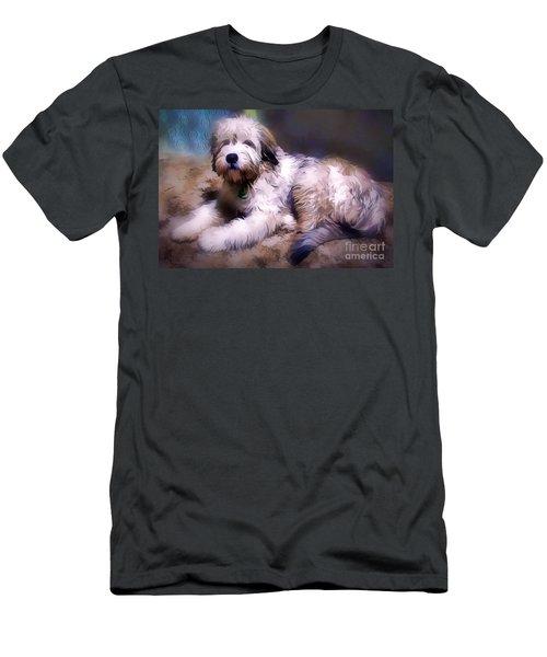 Want A Best Friend Men's T-Shirt (Athletic Fit)