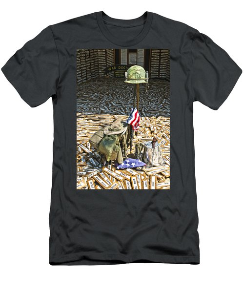 War Dogs Sacrifice Men's T-Shirt (Athletic Fit)