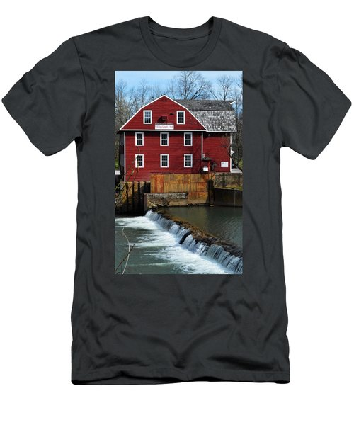 Men's T-Shirt (Athletic Fit) featuring the photograph War Eagle Mill by W And F Kreations