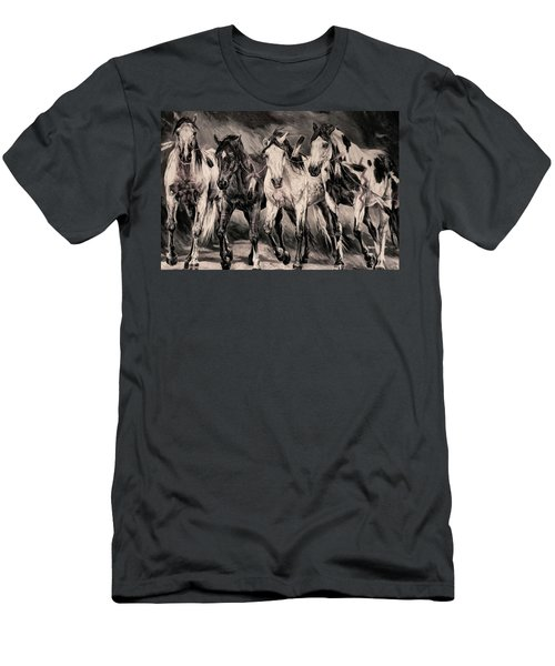 War Horses Men's T-Shirt (Athletic Fit)