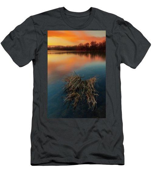 Warm Evening Men's T-Shirt (Athletic Fit)